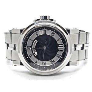 Breguet Marine Big Date 5817ST/92/SvO Stainless Steel Black Dial Automatic 40mm Mens Watch