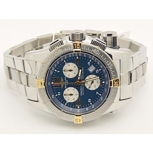 Breitling Emergency Mission B73321 Stainless Steel Blue Dial