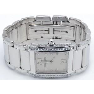 Patek Philippe Twenty-4 4910-G/001 18K White Gold & Diamonds Quartz 22mm Womens Watch