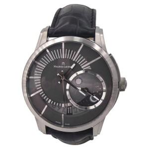 Maurice Lacroix Pontos Decentrique PT6108 Titanium 45mm Mens Watch