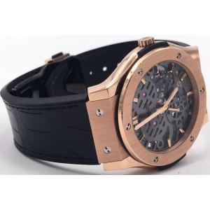 Hublot Classic Fusion Skeleton 5450X.0180.LR.PLP 18K Rose Gold 42mm Unisex Watch