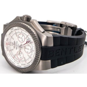 Breitling Bentley GMT B04 EB043335/G801 Titanium 45mm Mens Watch