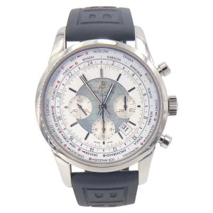 Breitling Transocean Chronograph Unitime AB0510U0/A732 46mm Mens Watch