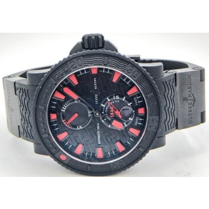 Ulysse Nardin Diver Black Sea 263-92-3C 45mm Mens Watch