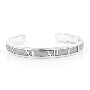 Tiffany & Co. Atlas 925 Sterling Silver Cuff Bracelet