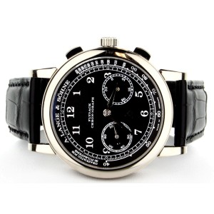 A. Lange & Sohne Chronograph 414.028 40mm Mens Watch