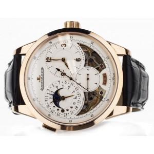 Jaeger Lecoultre Duomètre Quantième Lunaire 6042422 42mm Mens Watch