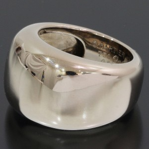 Cartier Nouvelle 18K White Gold Ring Size 4.75