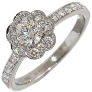 Platinum Diamond Ring Size 6