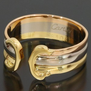 Cartier 18K Ring Size 5.75