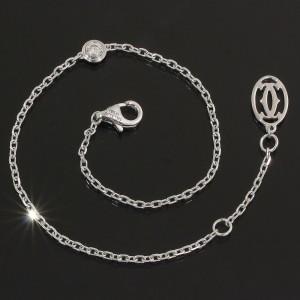 Cartier Diamants 18K White Gold Diamond Bracelet