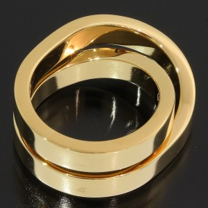 Cartier Paris 18K Yellow Gold Ring Size 5
