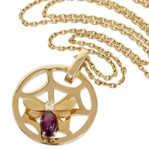 Chaumet Attrape 18K Rose Gold Amethyst, Diamond Pendant