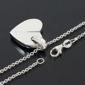 Piaget 5P 18K White Gold Diamond Necklace
