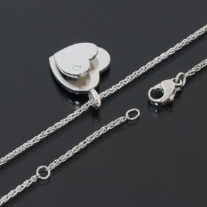 Piaget 18K White Gold Diamond Pendant