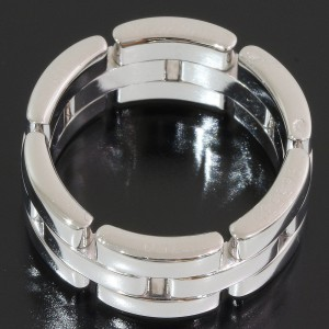 Cartier 18K White Gold Ring Size 5.5
