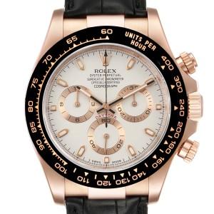 Rolex Cosmograph Daytona Rose Gold Everose Mens Watch 116515 Box Card