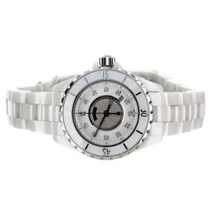 Chanel J12 diamond dial 33mm Ceramic