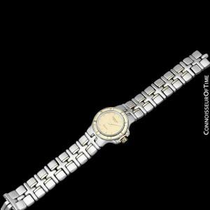 RAYMOND WEIL PARSIFAL SS & 18K Gold Ladies Watch, $2400 - Mint with Warranty