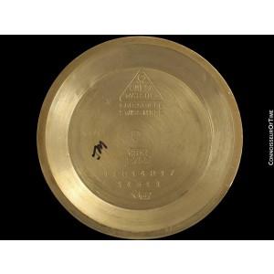 1951 OMEGA Very Rare Vintage Pre-Constellation Chronometer 14311 - 18K Gold