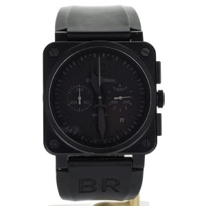 Bell & Ross BR03-92 Black PVD Auto Complete 42mm