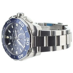 Tag Heuer Aquaracer Chronograph quartz 43mm cay111b.ba0927