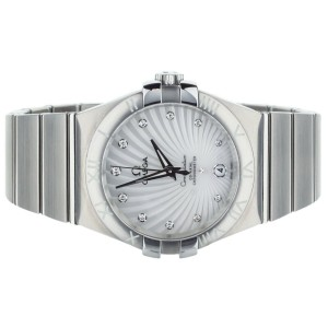 Omega Constellation MOP Diamond dial 36mm 12313352055001