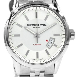 Gents Raymond Weil Stainless Steel Freelancer Wristwatch