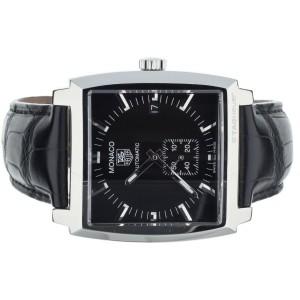 Tag Heuer Monaco Calibre 6 ref WW2110-0 Black dial 38mm