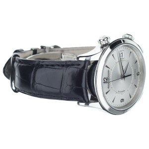 Jaeger-LeCoultre Master Memovox Silver 40mm Ref: Q1418430 Complete