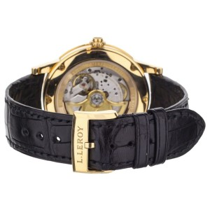 L.Leroy YellowGold Monopusher Chronograph Automatic no.1811