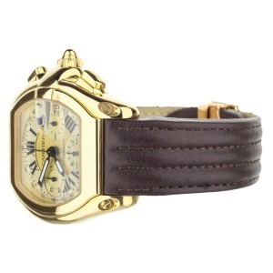 Cartier Roadster XL Chronograph 18K Gold Automatic 2619