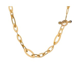 18k Rose Gold Roberto Coin Chic & Shine Necklace