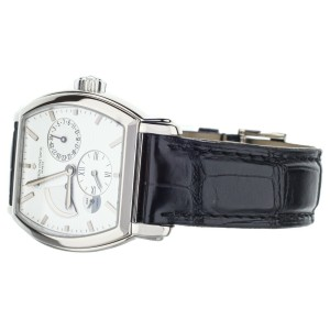 VACHERON CONSTANTIN MALTE DUAL TIME GMT 18K WG REF: 47400 BOX ONLY