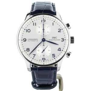 IWC Portugieser Chronograph Blue Stainless Steel 41mm IW371446