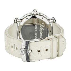 Chopard Happy Sport Snowflake 32.5mm 8236 white rubber strap