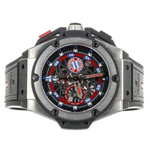 Hublot King Power Bayern Munich Limited Edition Titanium 716.NX.1129.RX.BYM12