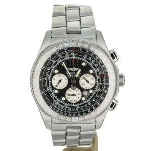 Breitling B-2 Stainless Steel Black Dial 44mm A42362