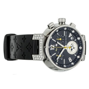 Louis Vuitton Tambour Lovely Cup 34mm Q132K Stainless Steel