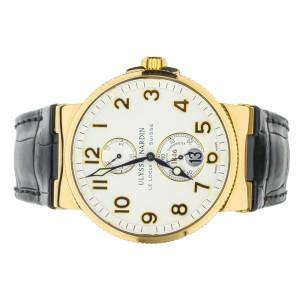 Ulysse Nardin Marine Chronometer Rose Gold 41mm 266-66 Full Set
