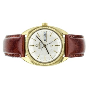 Omega Vintage Constellation Yellow Gold Plated 168.029 35mm