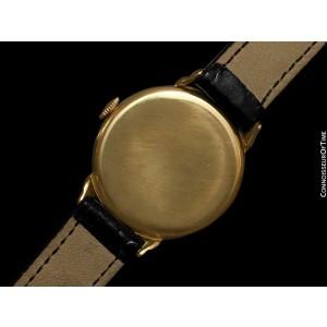 1930's VACHERON & CONSTANTIN Rare Vintage Mens Midsize Art Deco Watch, 18K Gold