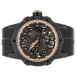 RICHARD MILLE RM 33-02 AUTOMATIC EXTRA THIN CARBON TBT CASE
