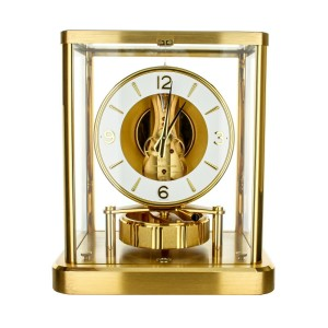 Jaeger LeCoultre Atmos Classic Brass Complete Service 2020 with 3 year warranty