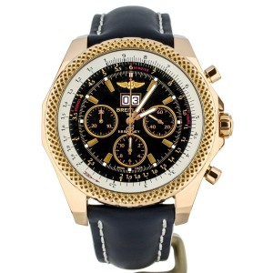 Breitling Bentley 675 18K Rose Gold 48mm R44367 Complete Set