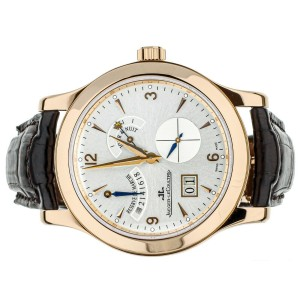 Jaeger LeCoultre Master Control 8 Days Big Date 41mm Rose Gold 146.2.17