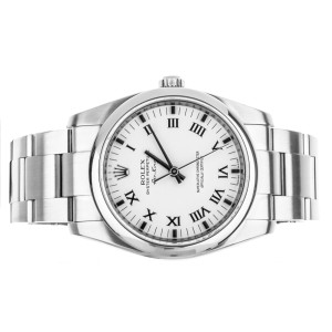 Rolex Air King 34mm White Dial Stainless Steel 16900