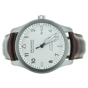 Bremond Solo Stainless Steel 43mm SOLO/WH-SI