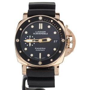 Panerai Submersible Rose gold 42mm PAM684 Complete set Pam.Guard Warranty