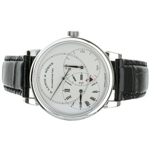 A. Lange & Sohne Richard Lange Jumping Seconds LE Platinum 252.025 Full Set